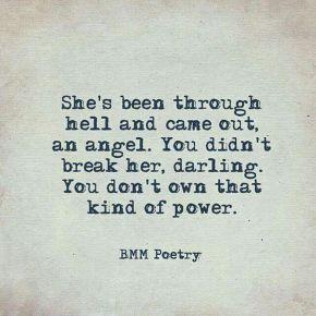 Você não pode quebra-la darling!;)