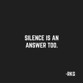 A hora de silenciar quando todosgritam