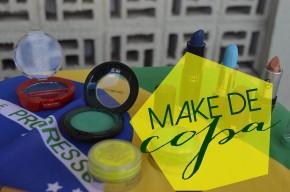 Jogo novo, vídeo novo. Dicas completas pra montar sua make verde e amarela. Dale copaneles!