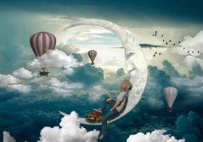 Os sonhos são a forma mais linda da nossa alma nosguiar