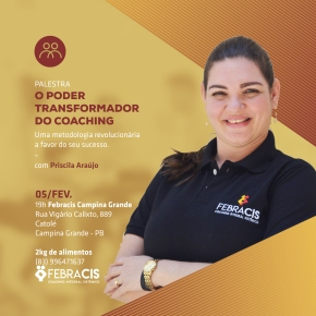 PALESTRA GRATUITA: O Poder Transformador do Coaching